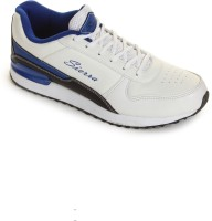 Siera 612113-123 Casual Shoes For Men(Silver, White, Blue)