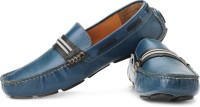 tZaro Elastic Blue Loafers For Men(Grey, Blue, Black)