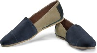Funk Mish Blue and Brown Casual Shoes For Men(Blue, Brown)