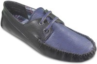 TEN Funky and Stylish Driving Shoes For Men(Black)