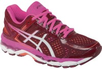 Asics Gel-Kayano 22 Women Running Shoes For Women(Maroon, White, Pink)