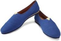 Funk Dess Blue Canvas Shoes For Men(Blue)