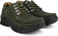 Bata Rox Men Synthetic Leather Outdoor Shoes For Men(Green)