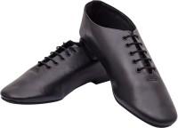 Daniel Clifford Black Dancing Shoes For Men(Black)