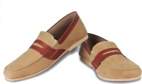 Funk Qooter Loafers For Men(Beige)