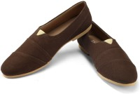 Funk Ress Brown Canvas Shoes For Men(Brown)