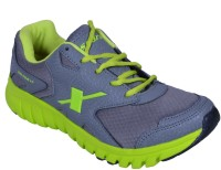 Sparx Running Shoes(Grey, Green)