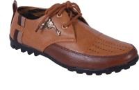 Mine-X Formal shoes For Men(Brown)