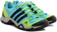 Adidas Ax2 W Hiking Shoes For Women(Blue, Yellow)