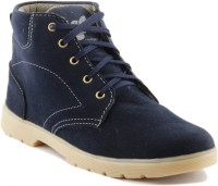 Golden Sparrow Boots For Men(Blue)