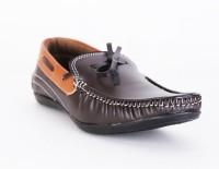 QUARKS Brown Boat Shoes For Men(Brown)