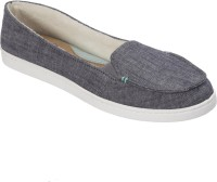 Dearfoams Cambray (Grey) Moccasin with Gore Medium Loafers, Casuals, Corporate Casuals(Grey)