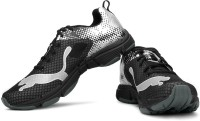 Puma Mobium Ride NC Powered Running Shoes For Men(Black, Silver)