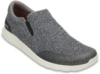 Crocs Kinsale Static Slip On Sneakers For Men(Grey)
