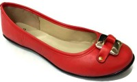 Stylar Alia Bellies For Women(Red)