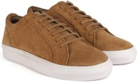 Provogue Genuine Leather Sneakers For Men(Tan)