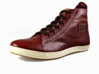 Knotty Derby James Sneak Sneaker Boots For Men(Brown)