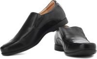 Samsonite Comfort Genuine Leather Slip On Shoes For Men(Black)