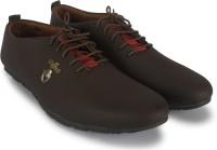 Footista Original Party Wear Shoes For Men(Brown)