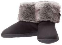Dearfoams Bootie Boots For Women(Black)