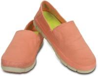Crocs Loafers For Women(Orange, Khaki)