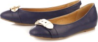 Vero Couture Buckle Up Bellies For Women(Blue)