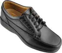 Action Synergy Fashion Line PUMS3701 Lace Up Shoes For Men(Black)