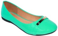 Promenade Melissa Patent Green Bellies(Green)