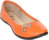 Stylar Dangling Heart Bellies For Women(Orange)