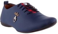 Footista Original Party Wear Shoes For Men(Blue)