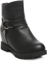 TEN Party & Casual Boots Boots For Women(Black)