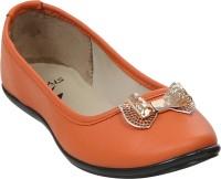 Stylar Take a Bow Bellies For Women(Orange)