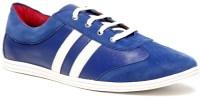 Zapatoz Blue & White Sneakers For Men(Blue)