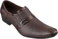 Metro Mocassin Slip On Shoes(Tan)