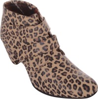 Exotique EL0032 Boots For Women(Brown)