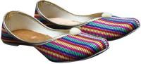 PORT Punjabi Designer Jutis For Women(Multicolor)