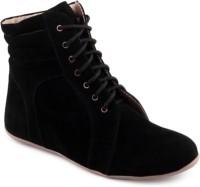 Alexus Boots For Women(Black)
