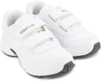 REEBOK Boys Lace Running Shoes(White)