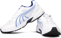 PUMA Storm Ind Running Shoes For Men(White, Blue)