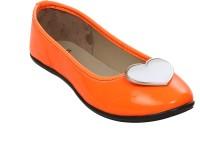 Stylar Heart Candy Bellies For Women(Orange)