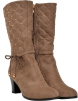 Pinza Long Cowboy Boots For Women(Khaki)