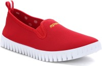 Sparx Stylish Red & White Running Shoes For Women(Red, White)
