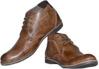 SHOE SMITH SS1074 Casuals For Men(Brown)