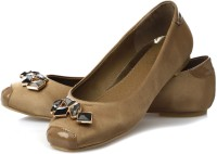 Vero Couture Encrusted Aureate Bellies For Women(Gold)