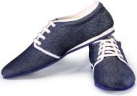Funk Donty Denim Blue Sneakers For Men(Blue)