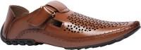 Bata BONUS Monk strap shoes For Men(Brown)