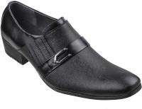 Metro Mocassin Slip On Shoes(Black)