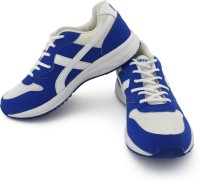 Vector X Marathon Running Shoes For Men(White, Blue)