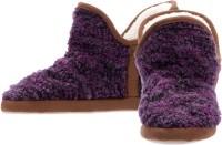 Dearfoams Bootie Casual Shoes For Women(Purple)