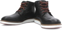 Levi's Nubuck Ankle Boots For Men(Brown, Black)